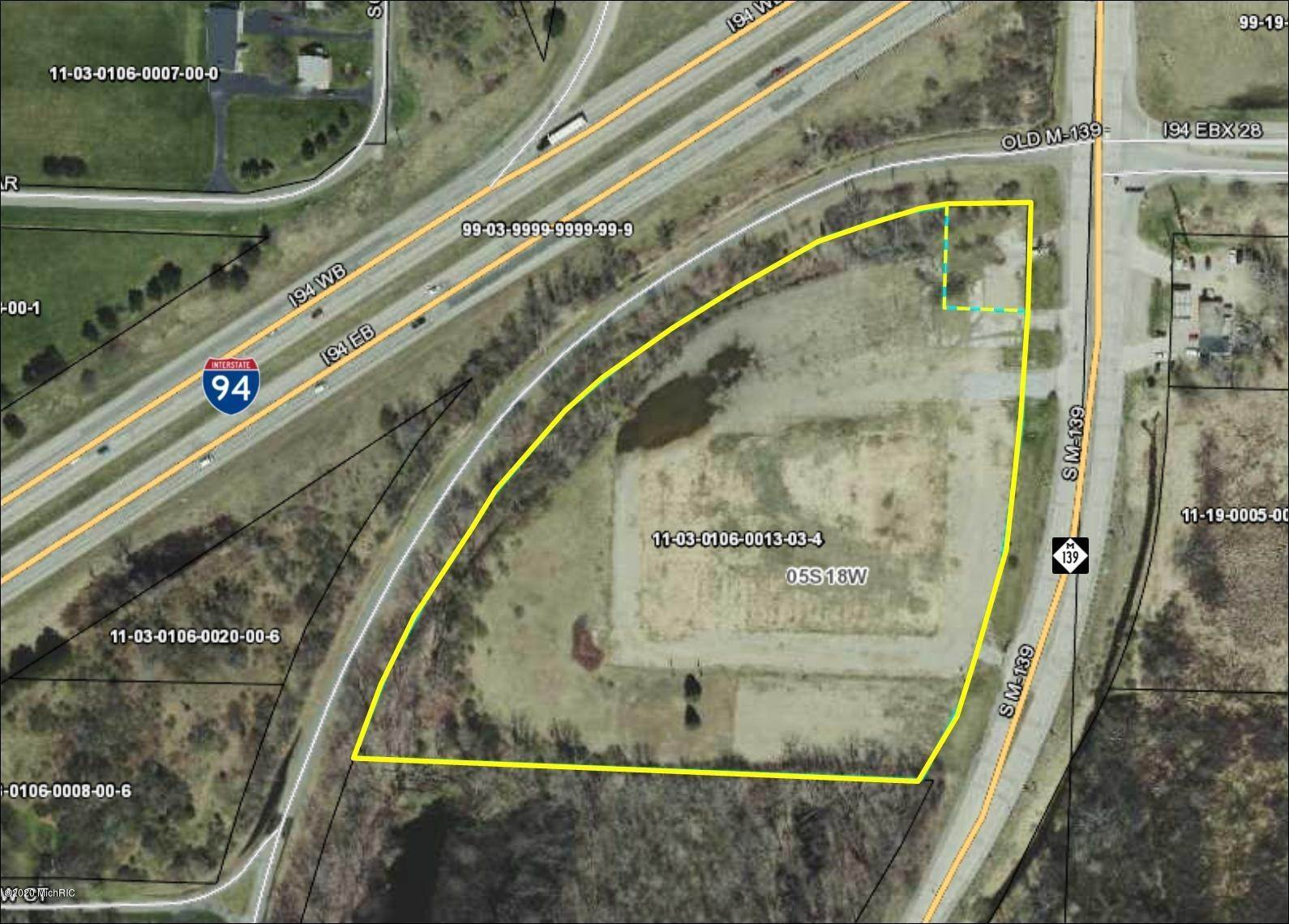 Land for Sale at 2860 M-139 Benton Harbor, Michigan 49022 United States
