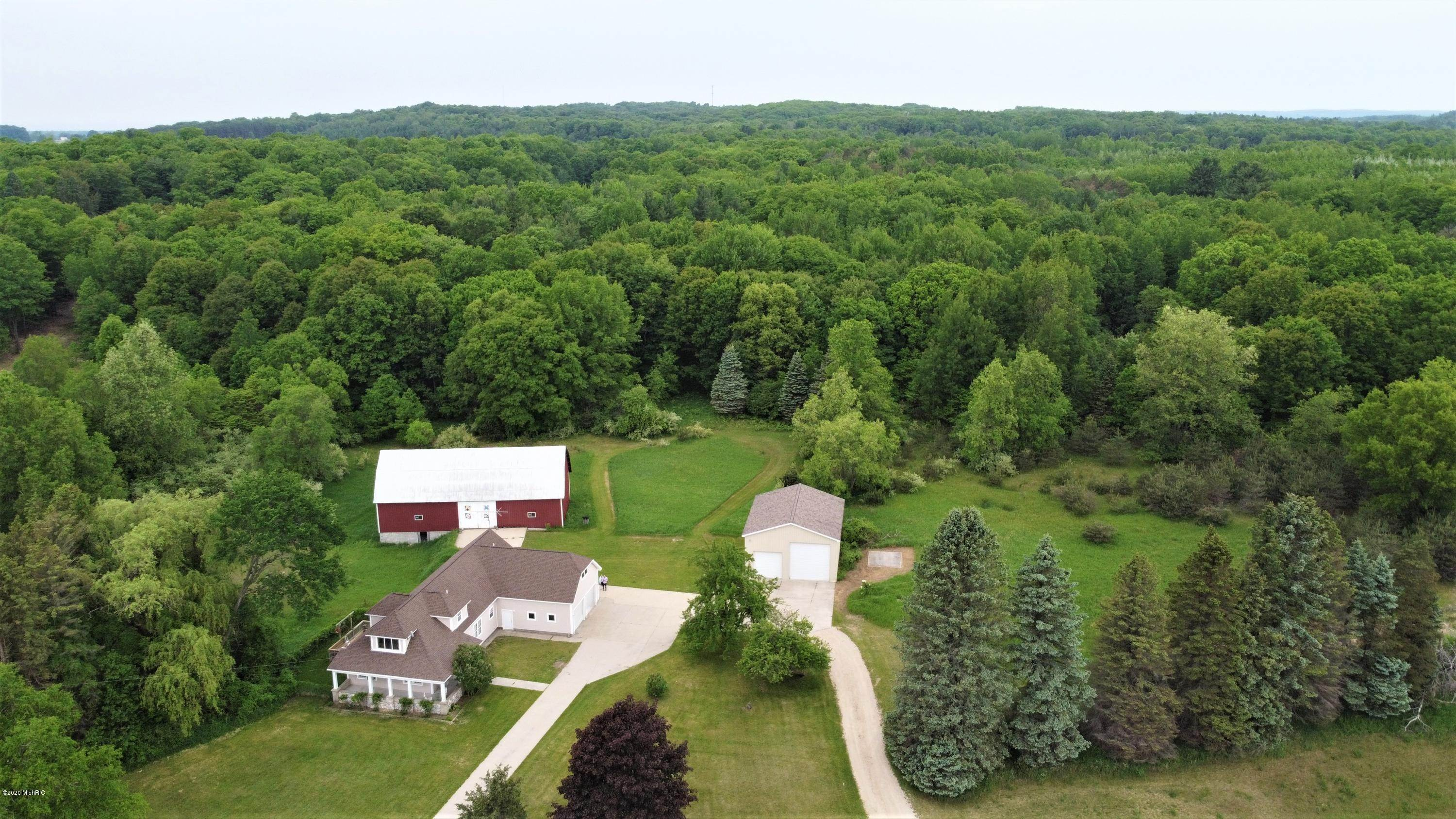 Farm and Ranch Properties por un Venta en Manistee, Michigan Estados Unidos