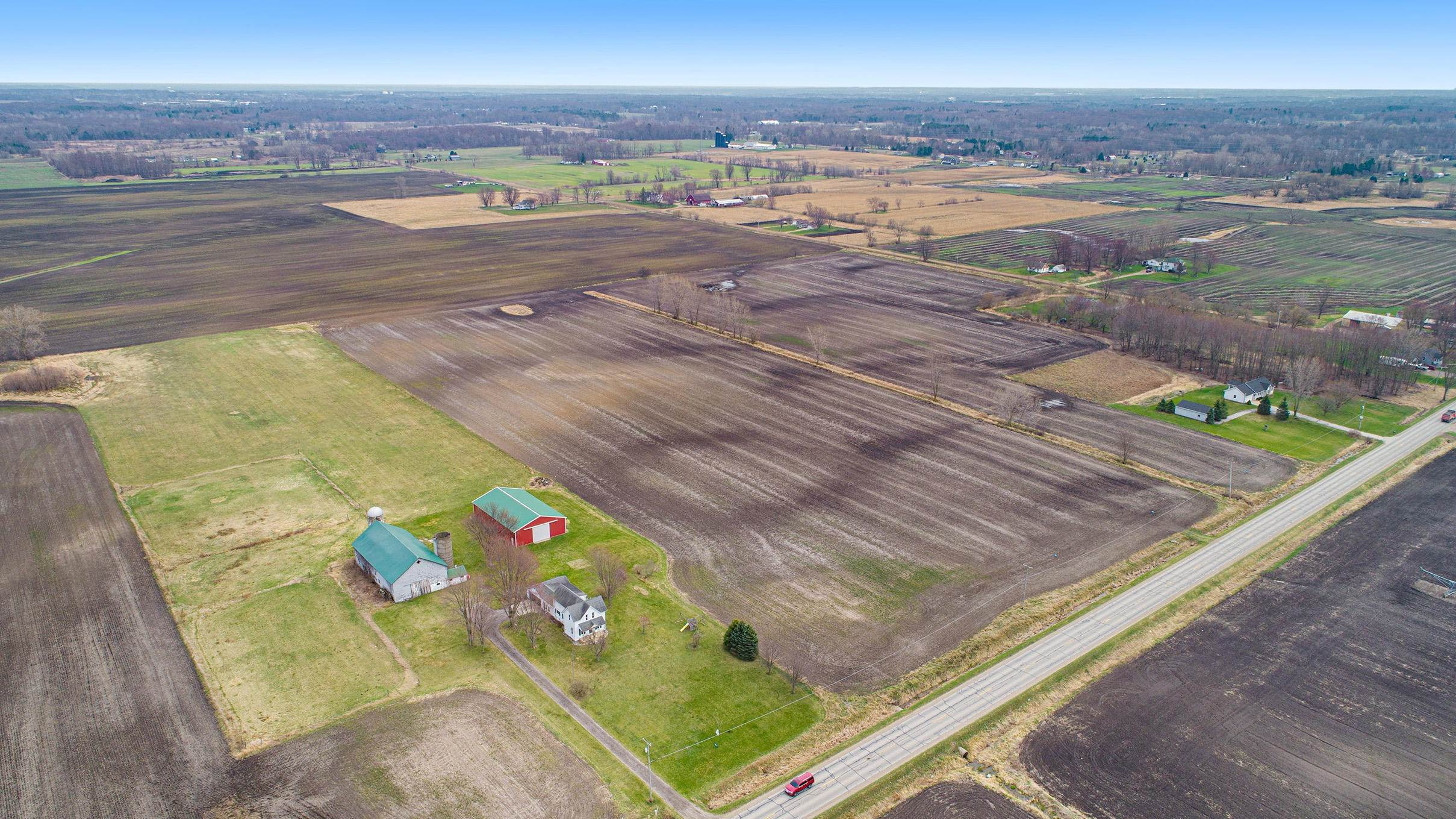 Farm and Ranch Properties for Sale at Hudsonville, Michigan United States